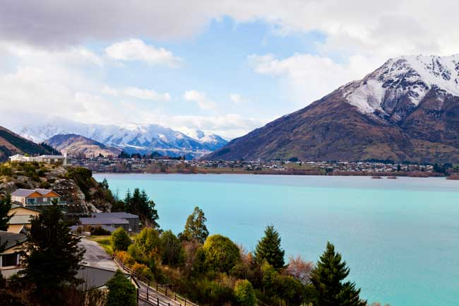 Lake Wakatipu is one of the biggest and most beautiful lakes of the region.